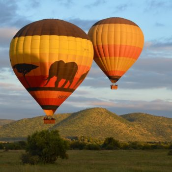 Hot air balloon flights/safaris _Pilanesberg National Park