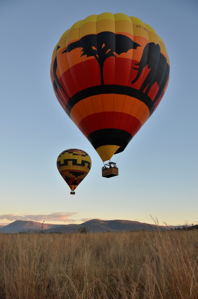 Hot Air Balloon Safari South Africa Mankwe Gametrackers _Pilanesberg National Park