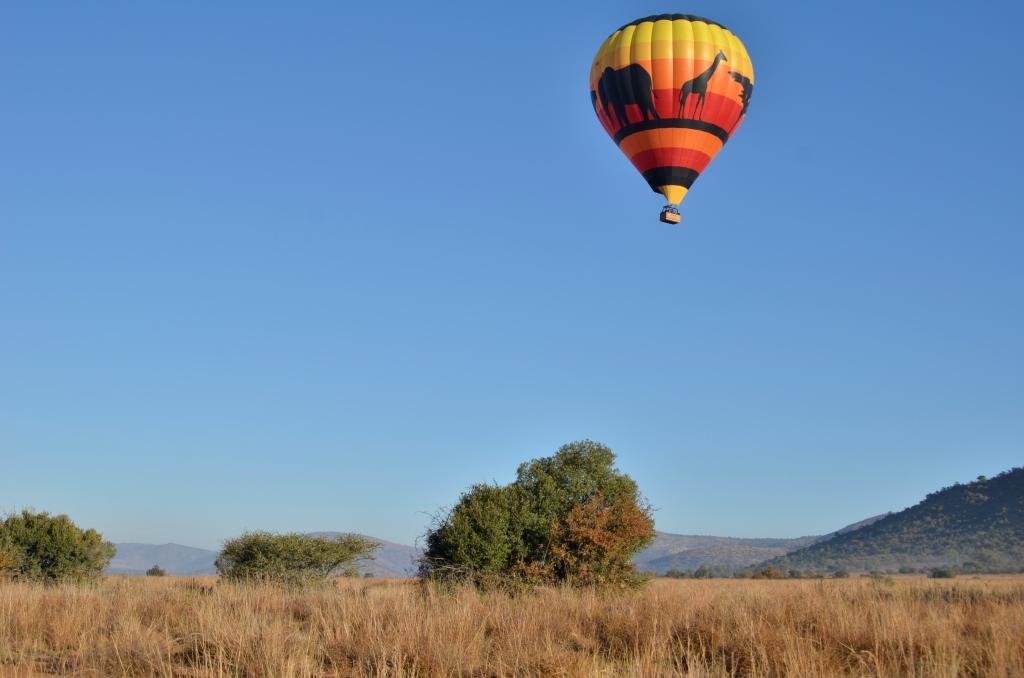 Hot air balloon flight Safari In the Pilanesberg National Park