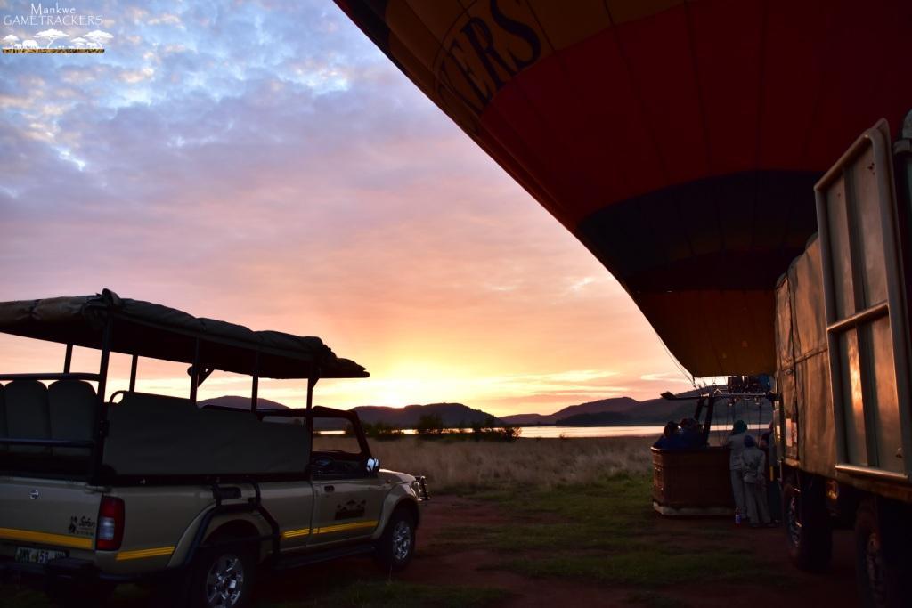 Hotairballoon flight/Safari South Africa Mankwe Gametrackers _Pilanesberg National Park, North West South Africa