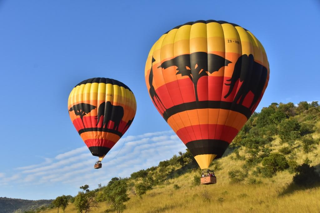 Mankwe GAMETRACKERS - Hot air balloon