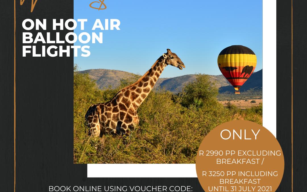 Hot Air Balloon Winter Special