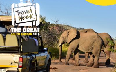 Travel week sale 6 -12 September 2021