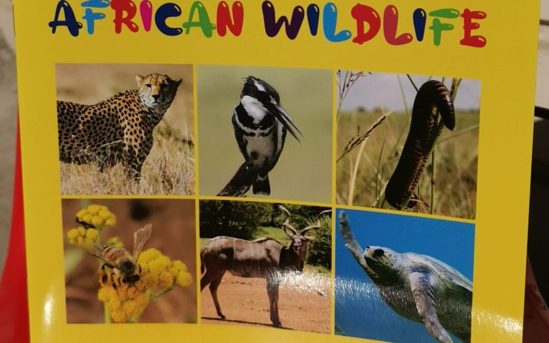 """Our latest sustainability project – """"My book of African Wildlife"""""""